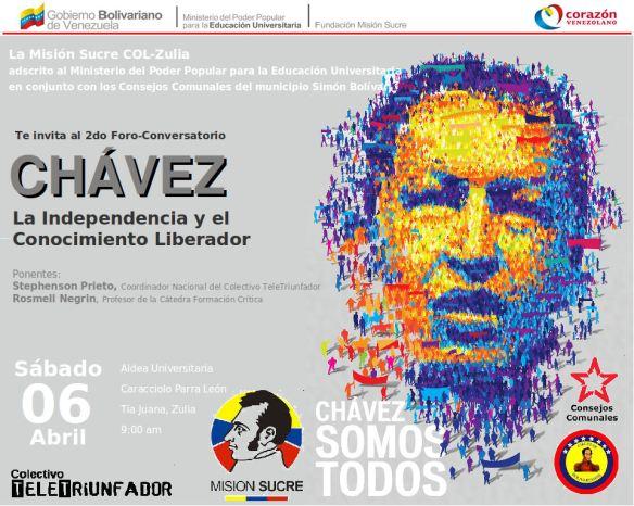 2do_Foro_Chavez_Afiche