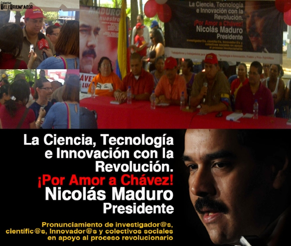 Ciencia y Tecnología con la Revolución